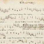 Descubren antiguo pergamino de música medieval en Italia