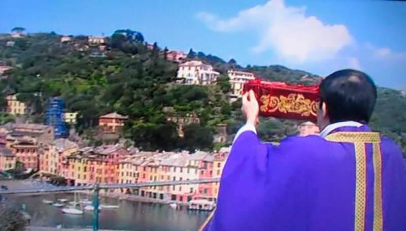 A Portofino esposte le reliquie di San Giorgio