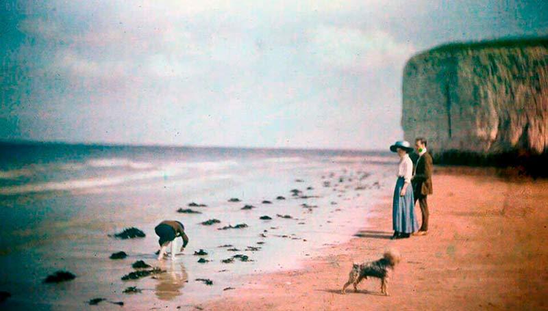 Ensoñadoras fotografías principios del siglo XX